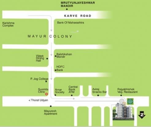 Darode Varad Vastu Location Plan