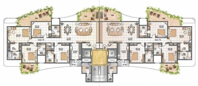 Supreme Pallacio Cluster Plan