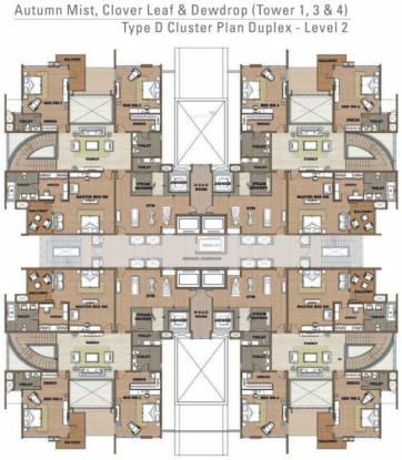 Prestige White Meadows Cluster Plan
