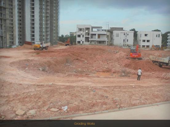 Prestige White Meadows Construction Status