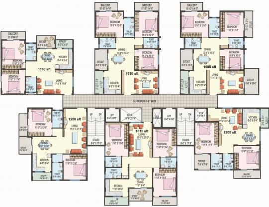 Sumadhura Anandam Cluster Plan