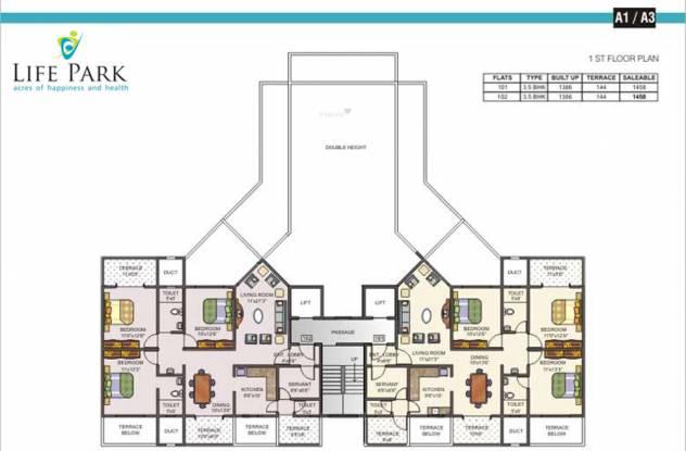Mittal Life Park Cluster Plan