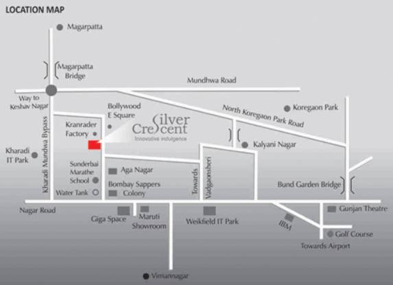 Mittal Silver Crescent Location Plan