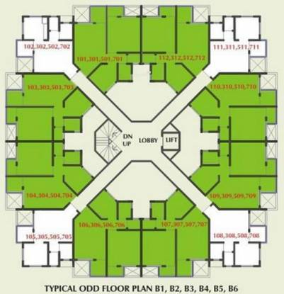 Mittal Green Hive Cluster Plan
