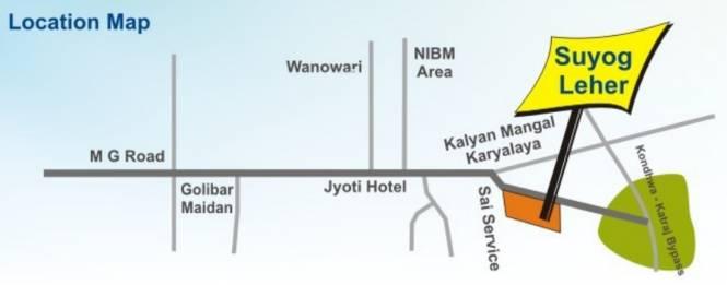 Suyog Leher Location Plan