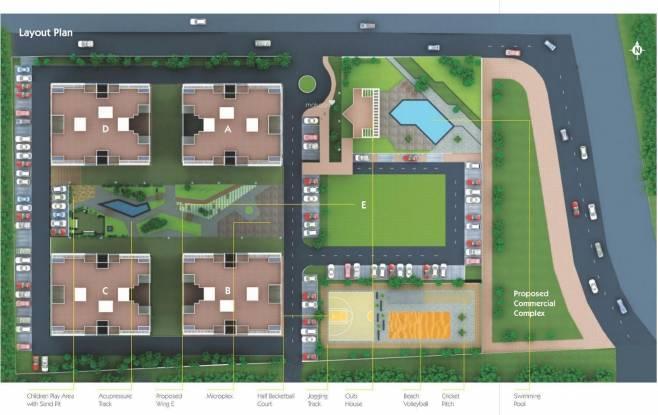 Vilas Javdekar Palladio Layout Plan