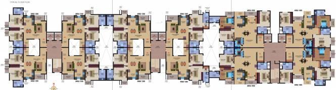 Veracious Rosedale Cluster Plan