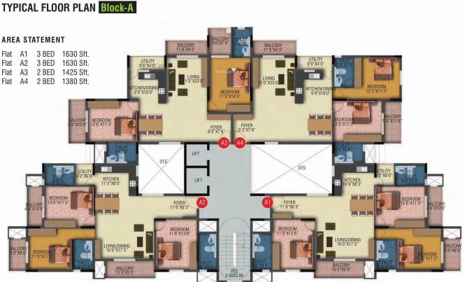 Veracious Vani Villas Cluster Plan