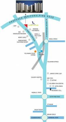 Veracious Vani Villas Location Plan