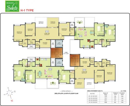 Belvalkar Solacia Cluster Plan
