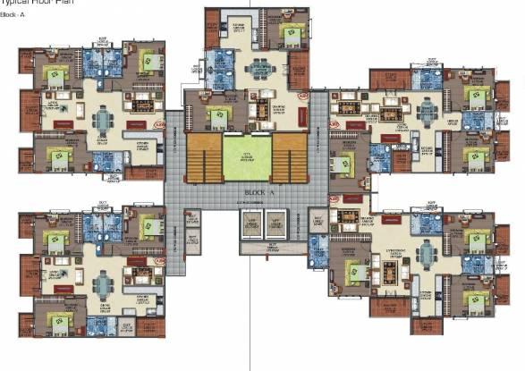 Keerthi Royal Palms Cluster Plan