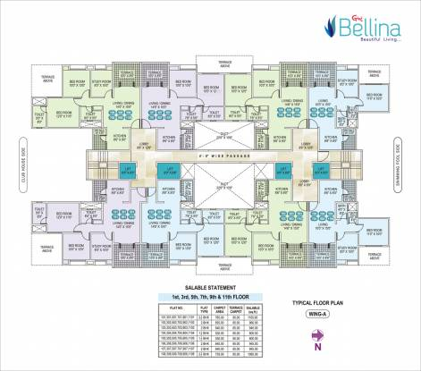Gini Bellina Cluster Plan