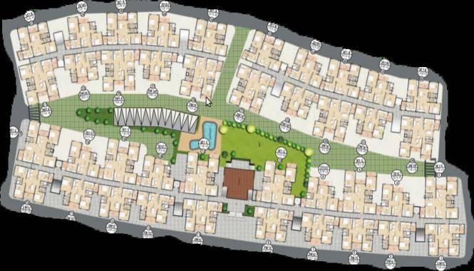 Mahaveer Laurel Cluster Plan