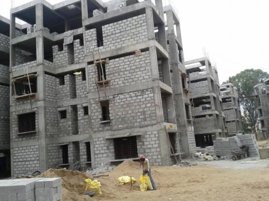 Mahaveer Laurel Construction Status