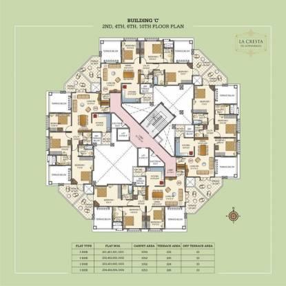 Paranjape La Cresta Cluster Plan