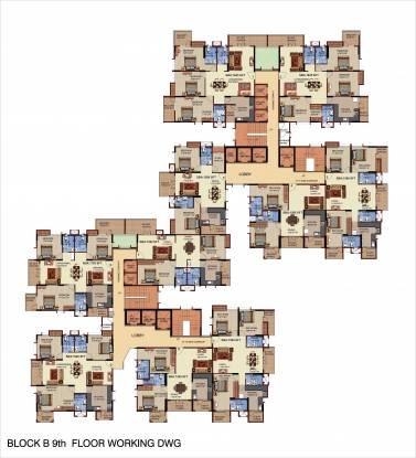 Mahaveer Riviera Cluster Plan