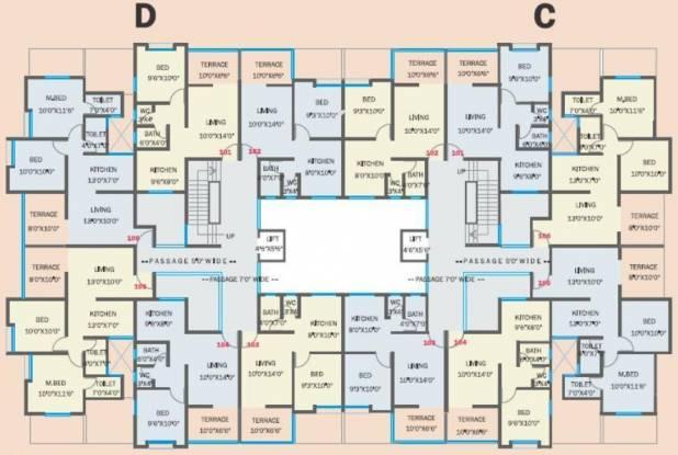 Bhandari Ivory Cluster Plan