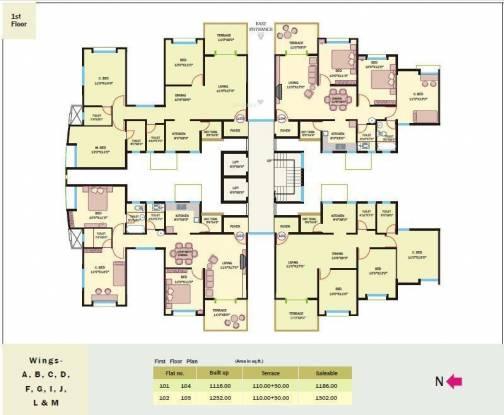 Bhandari Savannah Cluster Plan