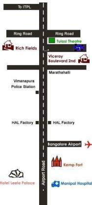 Vanshee Viceroy Boulevard Location Plan