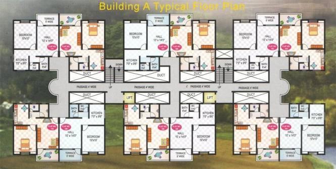 Vastu RPS Township Cluster Plan