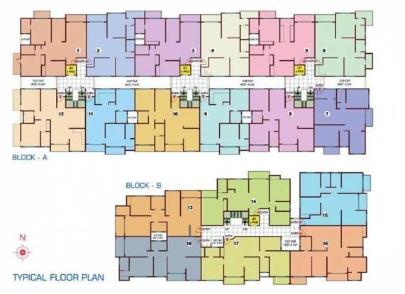 Nishant Pride Cluster Plan