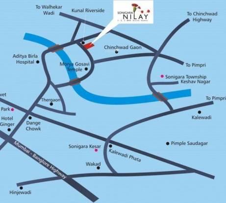 Sonigara Nilay Location Plan