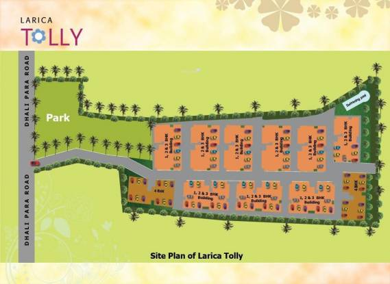 Larica Tolly Site Plan