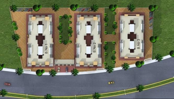 Sonigara Aangan Layout Plan