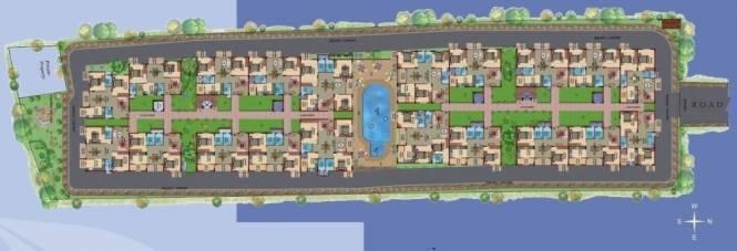 VijayaSri Golden Orchids Layout Plan