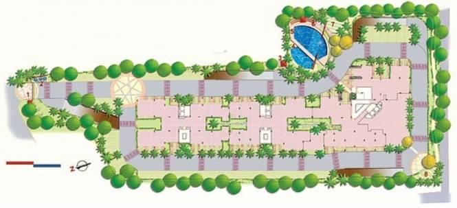 Hinduja Lake Front Estate Site Plan