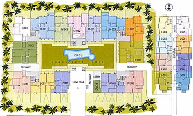 Hinduja Park Site Plan