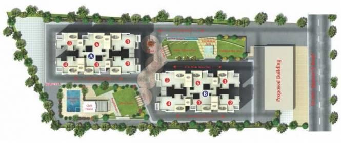Sree Wisteriaa Site Plan