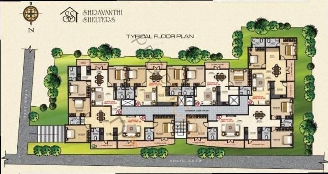 Shravanthi Prosper Cluster Plan