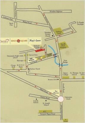 Sree Queens Tower Location Plan