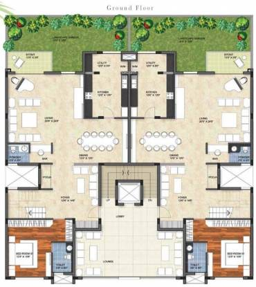 prestige group garden bay cluster plan