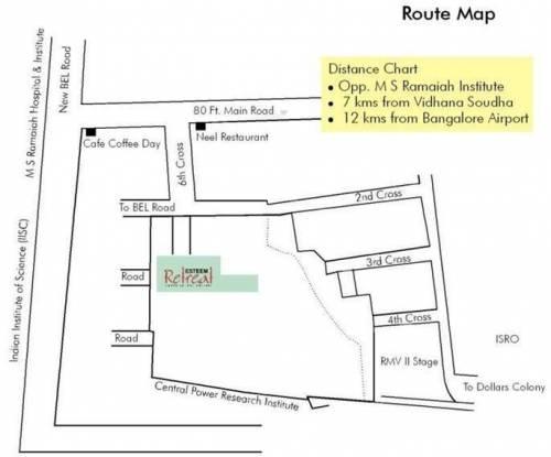 Esteem Retreat Location Plan