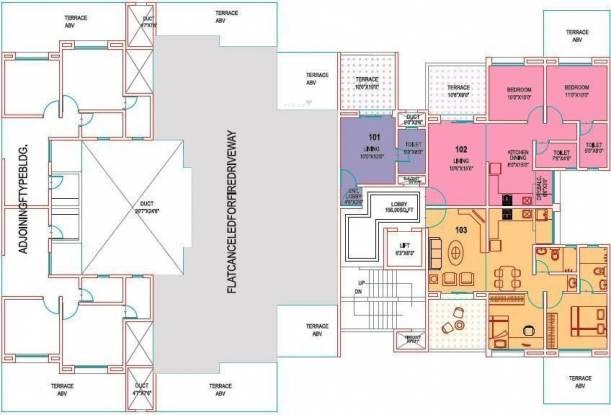 Sree Aishwaryam Greens Phase II Cluster Plan