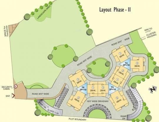 Shree Bal Kapil Malhar Phase II Layout Plan