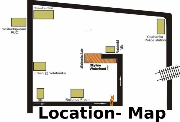 Skyline Waterfront Location Plan