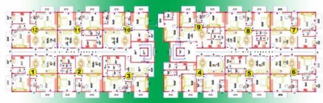 Aspen Prince Princess Palace Cluster Plan
