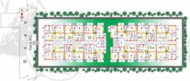Aspen Prince Princess Palace Site Plan