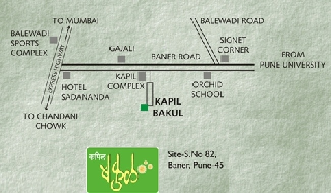 Shree Bal Kapil Bakul Location Plan