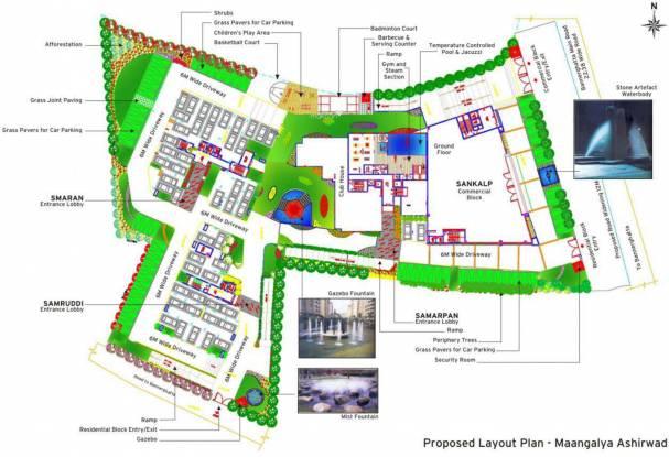 Maangalya Ashirwad Layout Plan