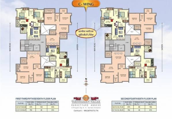 AK Shree Vardhman Nagar Cluster Plan