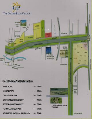Nimbus Golden Palm Village Location Plan