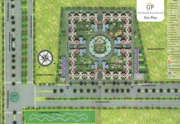 Nimbus Golden Palm Village Site Plan