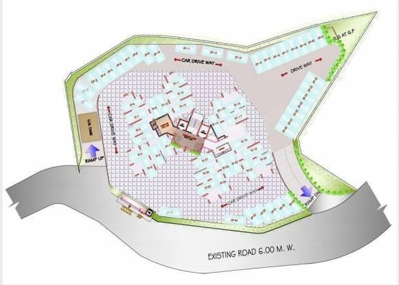 Vijay Nakshatra Site Plan