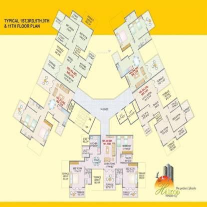 Uday Hilltop Residency Cluster Plan