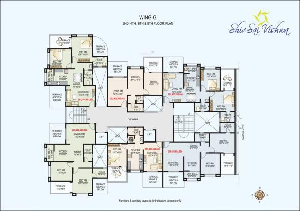 GK Shiv Sai Vishwa Cluster Plan