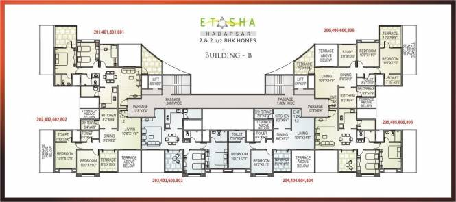 AV Etasha Cluster Plan